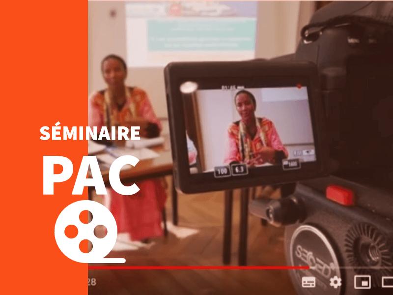 Les vidéos du séminaire sur la PAC