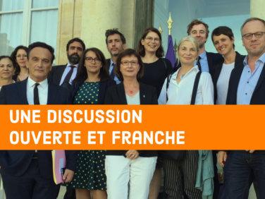 Coordination SUD rencontre Emmanuel Macron