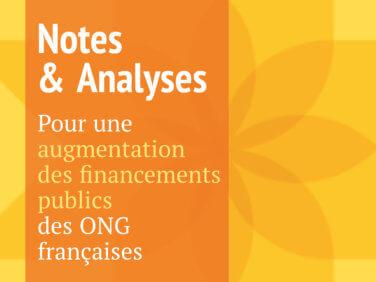 Note: Pour une augmentation des financements publics des ONG françaises