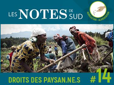 Défendre les droits des paysannes et des paysans: pour une Déclaration des Nations unies – Les Notes de SUD #14