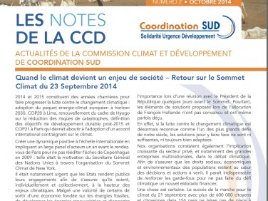 Les Notes de la CCD