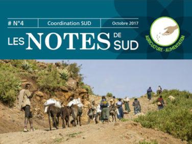 Les Notes de SUD n°4: Quelles politiques publiques pour promouvoir l'adaptation des agricultures familiales aux changements climatiques