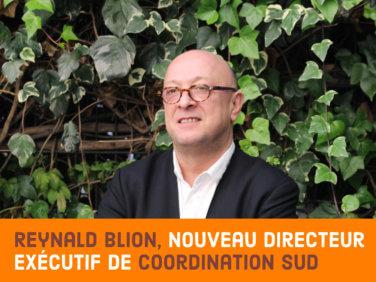 Nomination: Reynald Blion, nouveau directeur exécutif de Coordination SUD