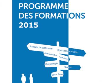 Programme de formation Coordination SUD – 2015