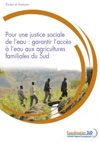 Pour une justice sociale de l'eau agricole