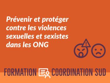 Prévenir et protéger contre les violences sexuelles et sexistes dans les ONG