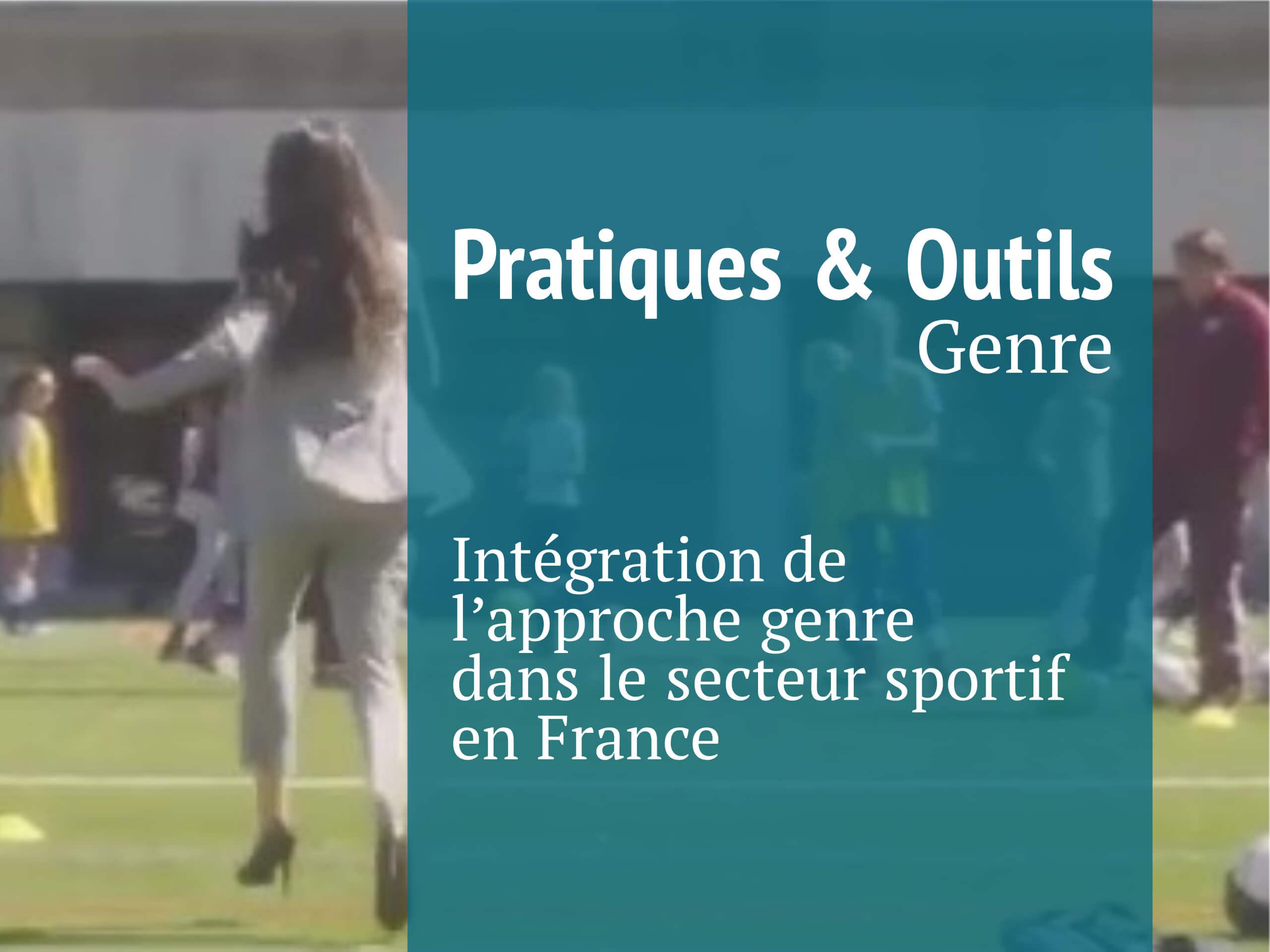 Pratiques & Outils Genre sport