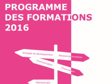 Le programme de formations 2016 de Coordination SUD est sorti !