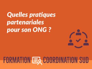 Quelles pratiques partenariales pour son ONG?