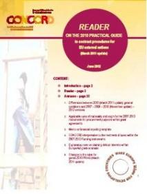 Reader : Document d'aide à l'interprétation du contrat standard EuropeAid (version 2010)