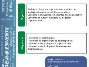 Renforcement des organisations