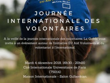 Journée internationale des volontaires – Témoignages- Table Ronde