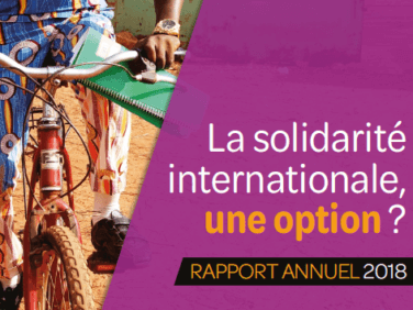La solidarité internationale, une option ?
