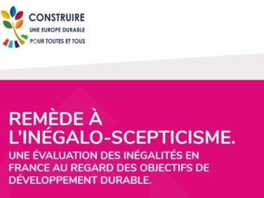 17 acteurs de la société civile dénoncent la montée de «l'inégalo-scepticisme» dans un rapport coordonné par 4D et wecf France