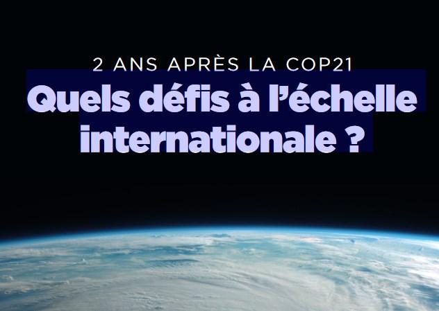 Quels défis à l'échelle internationale ?