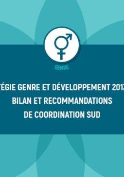 Document Stratégie genre et développement : bilan et recommandations de Coordination SUD