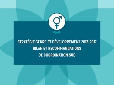 Stratégie genre et développement: bilan et recommandations de Coordination SUD