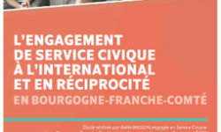 étude sur l'engagement de service civique à l'international et en réciprocité en Bourgogne-Franche-Comté