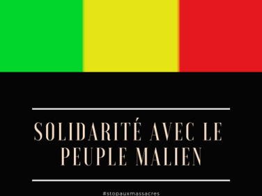 Solidarité avec le peuple malien