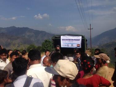 Triangle G H agit au Népal depuis le début du mois de mai 2015