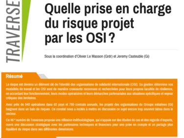 Quelle prise en charge du risque-projet par les OSI? (Traverses n°46)