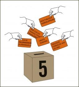 Elections européennes :  les têtes de liste d'EELV s'engagent pour un développement durable, juste et solidaire, l'UMP en retrait