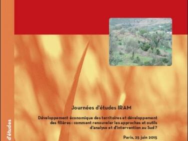 Développement économique des territoires et développement des filières : comment renouveler les approches et outils d'analyse et d'intervention au Sud? – Actes de la Journée d'études IRAM 25 juin 2015
