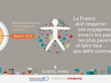 La France doit refaire de la solidarité internationale une priorité !