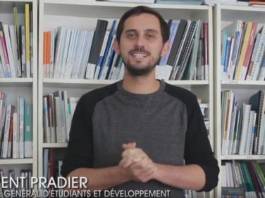 Campagne APD : découvrez l'interview de Vincent Pradier, délégué général d'Étudiants et Développement