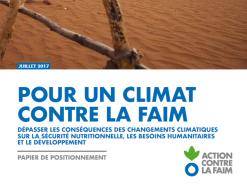 Pour un climat contre la faim – ACF