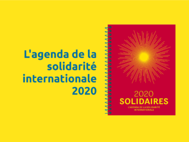 L'agenda de la solidarité internationale 2020 est disponible !