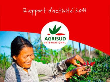 Le rapport d'activité 2017 d'Agrisud est disponible!