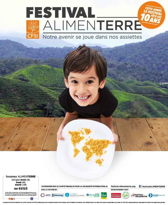 Affiche du festival alimenterre 2017