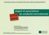 Enquête Argent et associations de solidarité internationale 2004-2005