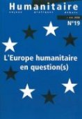 L'Europe humanitaire en question(s)