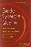 Gestion des ressources humaines dans les ONG (guide synergie qualité)