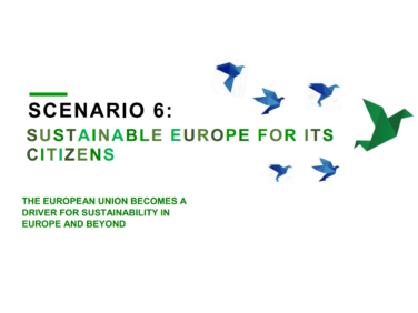 Coordination SUD signataire d'un 6e scénario pour une Europe solidaire et durable