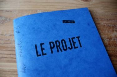 Le Projet comme thème des cahiers du Pavé