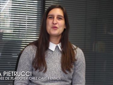 Campagne APD : découvrez l'interview d'Elsa Pietrucci, chargée de plaidoyer à CARE France