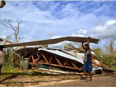 Passage du Cyclone Pam au Vanuatu – les ONG françaises se mobilisent