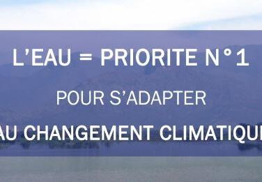 L'eau, un moyen d'action contre le réchauffement climatique
