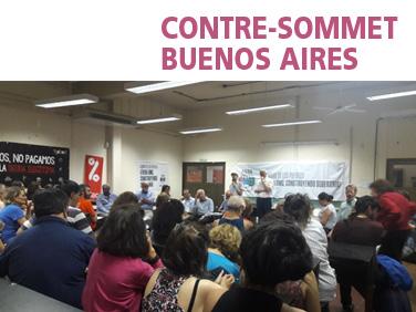 Le point sur le contre-sommet de l'OMC à Buenos Aires