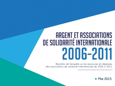 Étude « Argent et associations de solidarité internationale 2006-2011 » – Coordination SUD/MAE/AFD