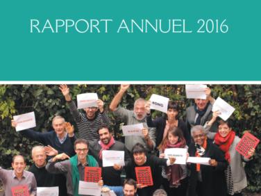 Le rapport annuel 2016 de Coordination SUD est en ligne