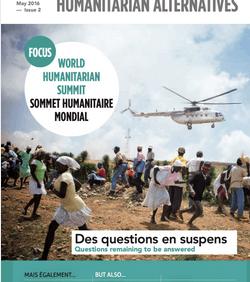 Coordination SUD : «Un consensus humanitaire à la française» – Alternatives Humanitaire