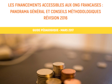 Les financements accessibles aux ONG françaises : panorama général et conseils méthodologiques