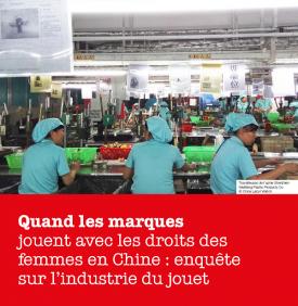 Enquête dans l'industrie du jouet en Chine – ActionAid France
