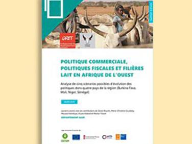 Quelles évolutions pour la filière lait en Afrique de l'Ouest?