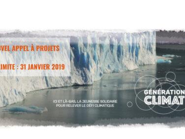 Lutte contre le changement climatique: nouvel appel à projets de Génération Climat destinés aux jeunes