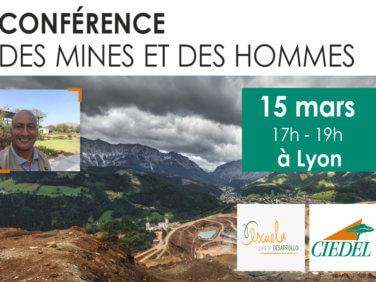 Conférence «Des mines et des hommes» – impact de l'extraction minière sur les communautés au Pérou